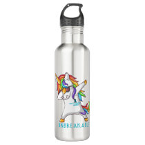Tourette's Syndrome Warrior Unbreakable Stainless Steel Water Bottle