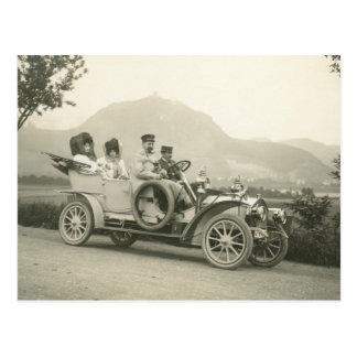 touring car 1907 o faetón de c postal