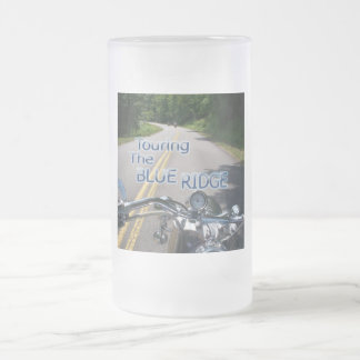 Touring the Blue Ridge Frosted Glass Beer Mug
