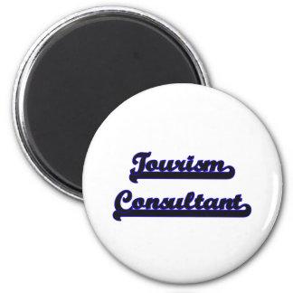 Tourism Consultant Classic Job Design 2 Inch Round Magnet