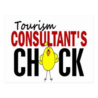 Tourism Consultant's Chick Postcard