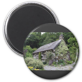 Tourist Attraction In Wales Ugly House 2 Inch Round Magnet