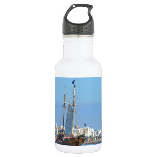 Tourist Boat On The Algarve Water Bottle