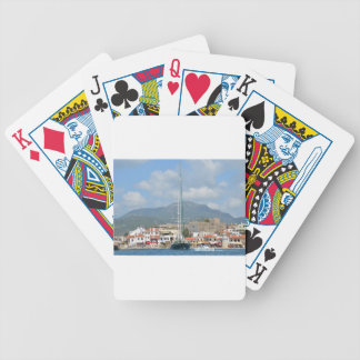 Tourist Boats In Turkey Bicycle Playing Cards