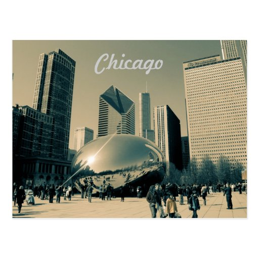 Tourist Chicago Post Card