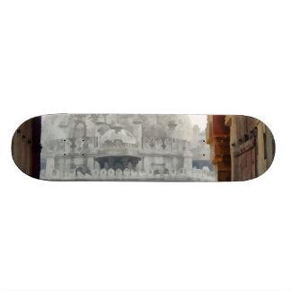 Tourist in gateway skateboard deck