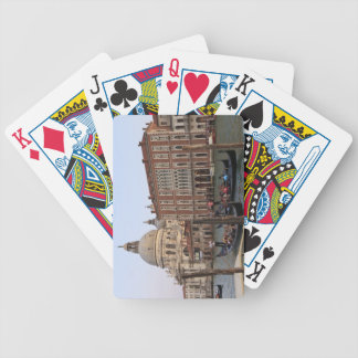 Tourist in Gondolas from San Maria Del Giglio Bicycle Playing Cards