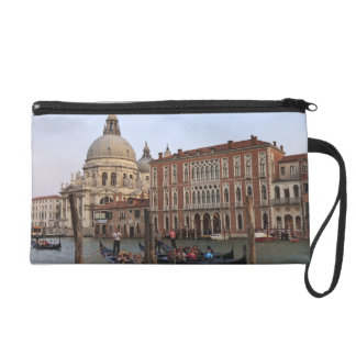 Tourist in Gondolas from San Maria Del Giglio Wristlet Purse