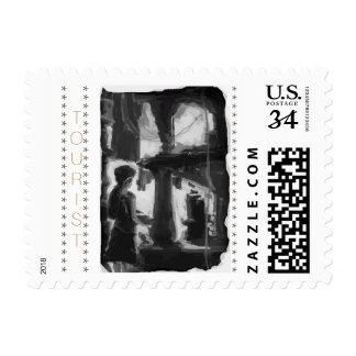 TOURIST post card Postage