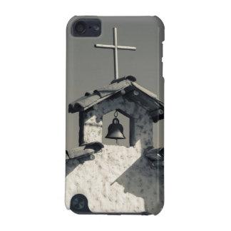 Tourist town, village chapel iPod touch 5G case