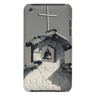 Tourist town, village chapel iPod touch case