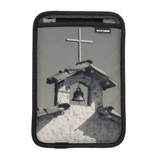 Tourist town, village chapel sleeve for iPad mini