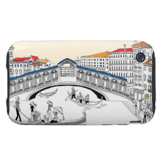 Tourist Traveling in Boats iPhone 3 Tough Case