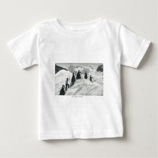 Tourists 1870 Mer de Glas Baby T-Shirt