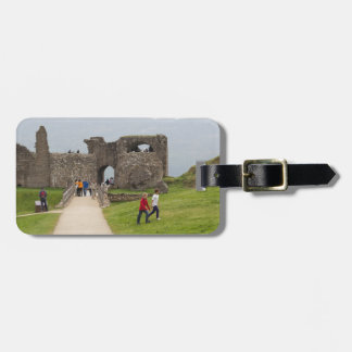 Tourists and the path in the Urquhart Castle Tags For Bags