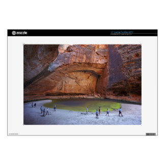 """Tourists at Cathedral Gorge, Bungle Bungles Decal For 15"""" Laptop"""