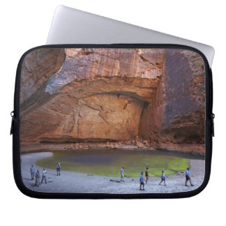 Tourists at Cathedral Gorge, Bungle Bungles Laptop Computer Sleeve