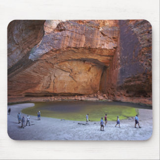 Tourists at Cathedral Gorge, Bungle Bungles Mouse Pad