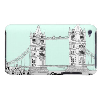 Tourists by Railing iPod Case-Mate Case