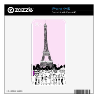 Tourists by Tower Skin For iPhone 4S