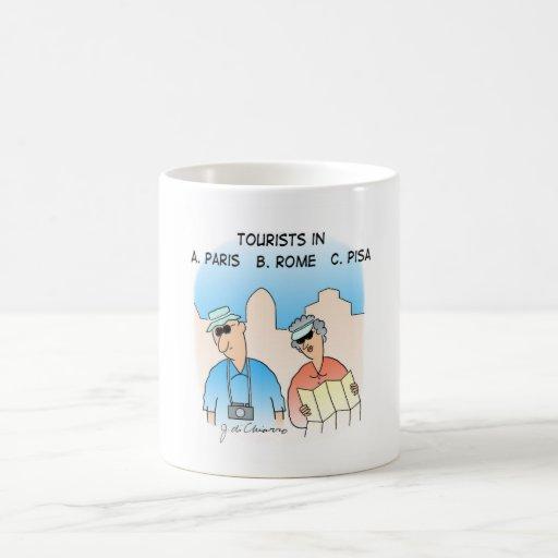 Tourists Mugs