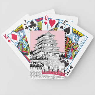Tourists on Bridge Bicycle Playing Cards