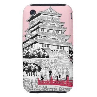 Tourists on Bridge iPhone 3 Tough Cover