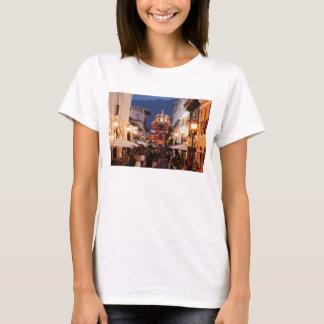 Tourists On San Cristobal De Las Casas Street T-Shirt