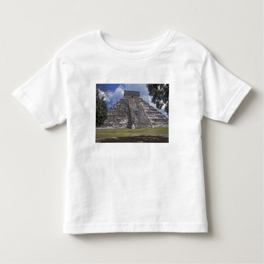 Tourists walk past an unrestored side of El Toddler T-shirt