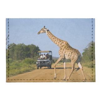 Tourists Watching Giraffe Tyvek® Card Wallet