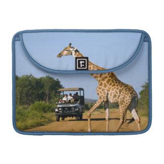 Tourists Watching Giraffe Sleeve For MacBooks