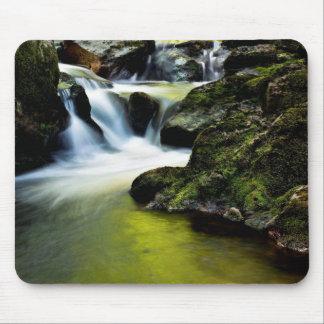 Tourmakeady Waterfall in County Mayo, Ireland Mousepads
