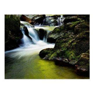Tourmakeady Waterfall in County Mayo, Ireland Postcard