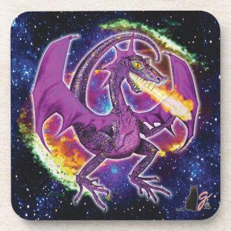 Tourmaline Cosmic Dragon Coaster