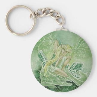 Tourmaline Green Keychain