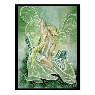 Tourmaline Green Postcard