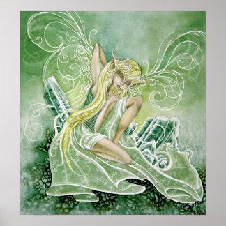 Tourmaline Green Print