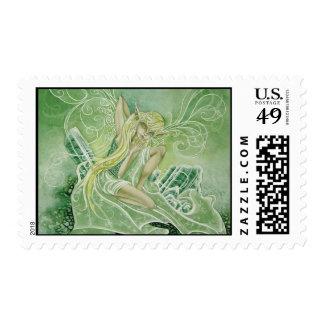 Tourmaline Green Stamps