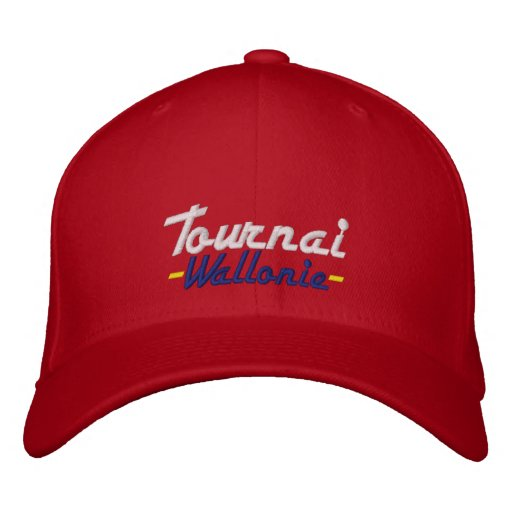 Tournai - treasure of Belgium Embroidered Baseball Hat