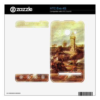 Tournament at a castle by Paul Rubens HTC Evo 4G Decal