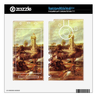Tournament at a castle by Paul Rubens Skins For Toshiba REGZA