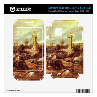 Tournament at a castle by Paul Rubens Samsung Fascinate Skins