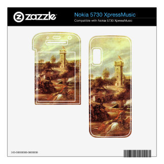 Tournament at a castle by Paul Rubens Nokia 5730 Skin