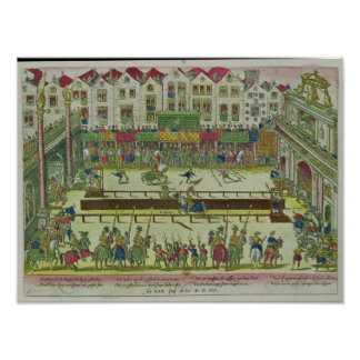 Tournament during which Henri II Poster