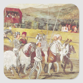 Tournament in Honour of Christian I  of Square Sticker