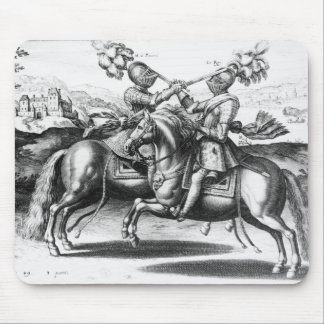 Tournament scene between Henri IV  and Antoine Mouse Pad