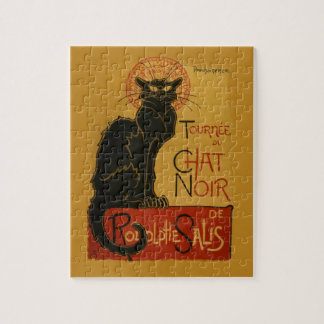 Tournee de Chat Noir Black Cat Puzzle
