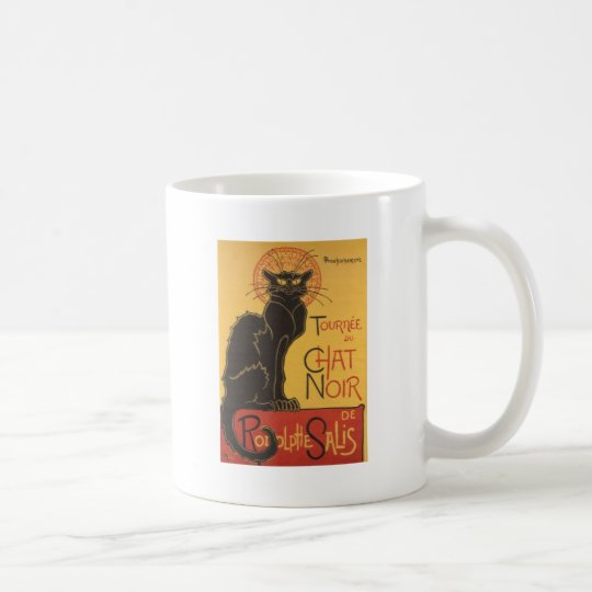 Tournee du Chat Noir 1896 Cabaret Poster Coffee Mug