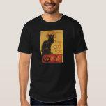 Tournee du Chat Noir 1896 Cabaret Poster T-Shirt