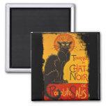Tournee du Chat Noir 2 Inch Square Magnet